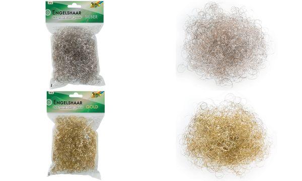 folia Engelshaar, silber, 20g