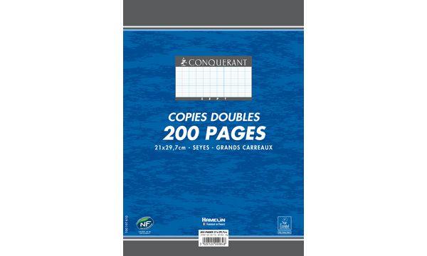 CONQUERANT Sept Kanzleipapier, DIN A4, SEYES, 100 Blatt