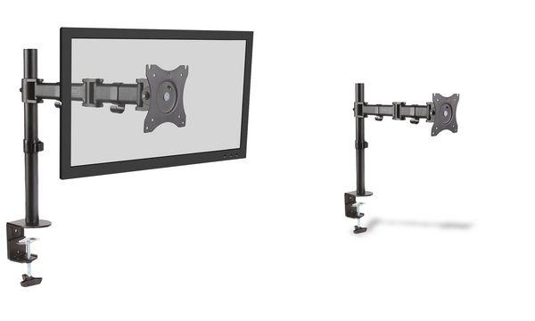 DIGITUS LCD-/LED-Monitorarm Single, mit Klemmfuß, bis 69 cm