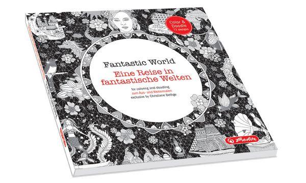 herlitz Malbuch Fantastic World, 72 Seiten