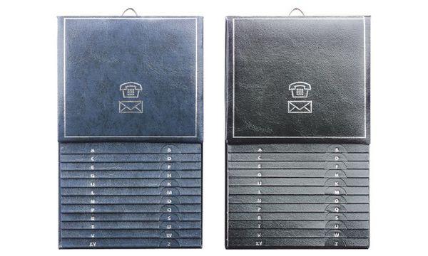 herlitz Telefonregister, farbig sortiert, (B)135 x (H)21...