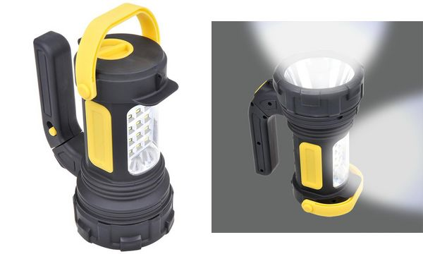 IWH LED-Multifunktionslampe 2 in 1, 5W LED + 12 SMD LED