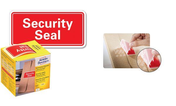 AVERY Zweckform Sicherheitssiegel Security Seal, 38x20 mm