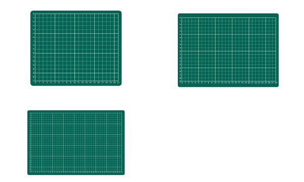 rillstab Schneidematte, DIN A1, (B)900 x (T)600 x (H)3 mm