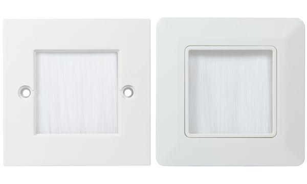 LogiLink Unterputzdose für Kabeleinführung, 86 x 86 mm
