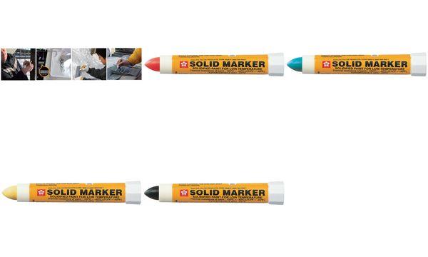 Sakura Industriemarker Solid Marker Extreme, gelb