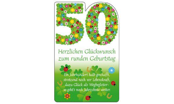 SUSY CARD Geburtstagskarte - 80. Geburtstag Blumenfond