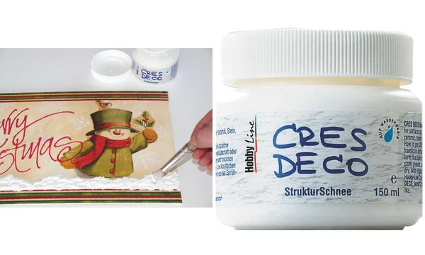 KREUL Strukturschnee Cres Deco, 150 ml