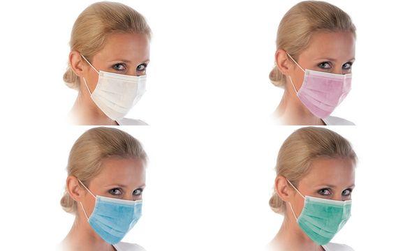 franz mensch Mundschutz HYGOSTAR mit Nasenbügel, 3-lagig