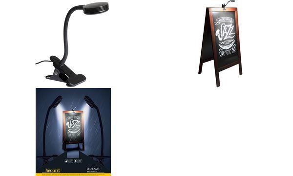 Securit LED Leuchte LED LAMP WATERPROOF, mit Clip, 2 S...