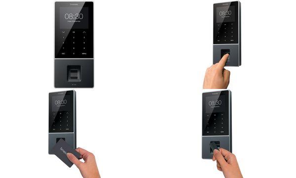 TimeMoto Zeiterfassungssystem TM-828, RFID-/Fingerabdruck-