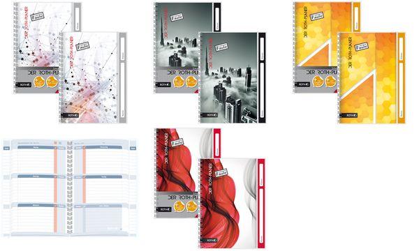 ROTH Hausaufgabenheft Der Roth-Planer, DIN A5, Hexagon