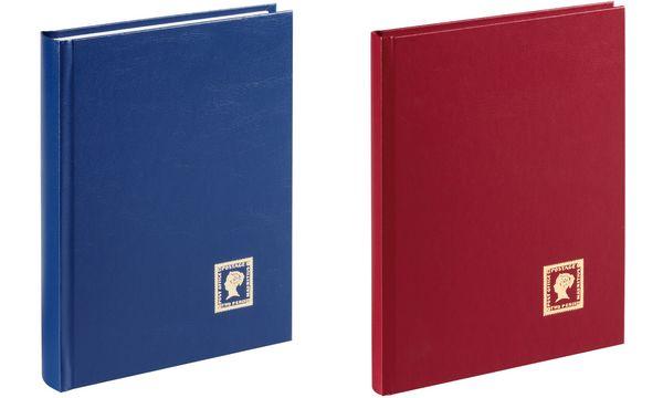 PAGNA Briefmarkenalbum, dunkelblau, DIN A5, 32 Seiten