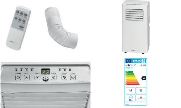CLATRONIC Klimagerät CL 3671, weiß
