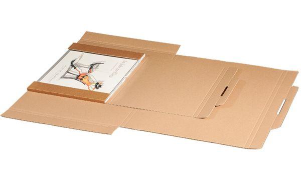 #25xsmartboxpro Kalender-Versandkarton, für DIN A4, braun