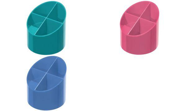 herlitz Stifteköcher Color-Blocking Baltic Blue