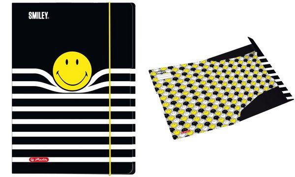 herlitz Zeichnungsmappe Smiley B&Y Stripes, DIN A3