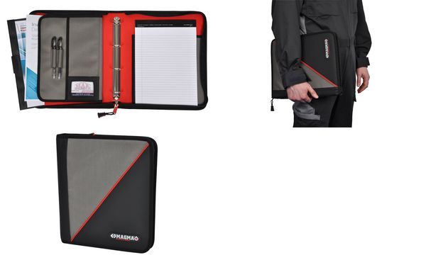 C.K Magma Tablet-PC Organizer, schwarz/grau