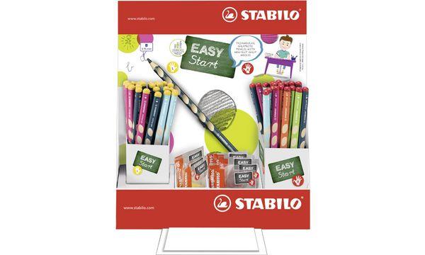 STABILO Schreiblernbleistift EASYgraph, HB, 72er-Display