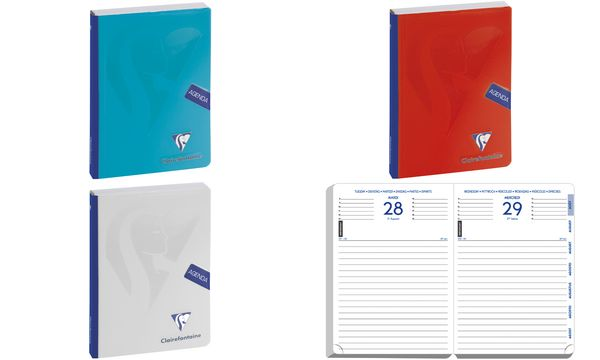 Clairefontaine Agenda scolaire FORUM Mimesys 2019/2020