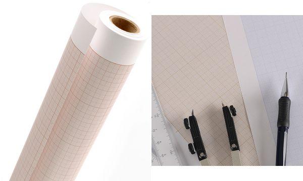 CANSON Millimeterpapier-Rolle, 1,10 x 10 m, 90 g/qm