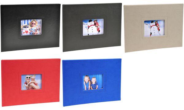 EXACOMPTA Fotoalbum Softissimo, 285 x 220 mm, blau