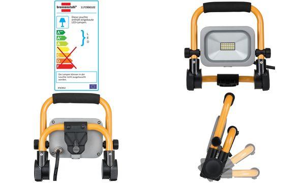 brennenstuhl Mobiler Slim LED-Strahler, IP54, 10 W