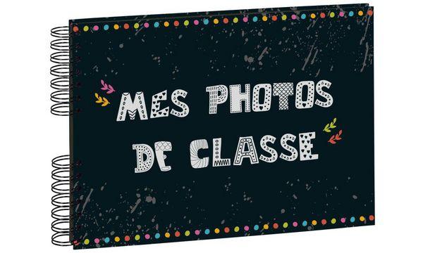 EXACOMPTA Foto-Spiralalbum Mes Photos de classe