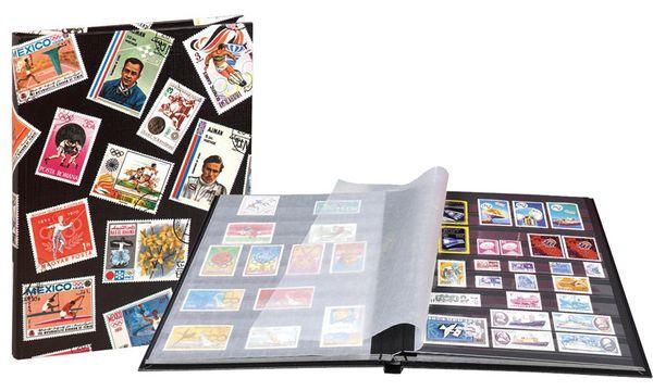 EXACOMPTA Briefmarkenalbum Sport, 170 x 225 mm