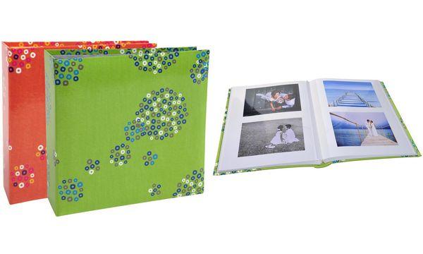 EXACOMPTA Fotoalbum Punkte, 220 x 260 mm, sortiert