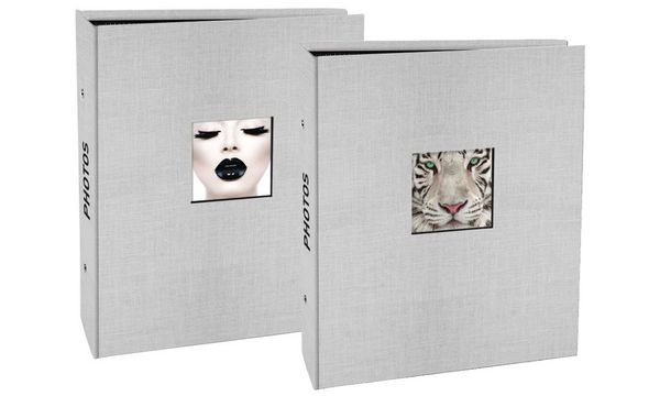 EXACOMPTA Einsteckalbum Fantasie, 140 x 165 mm, sortiert