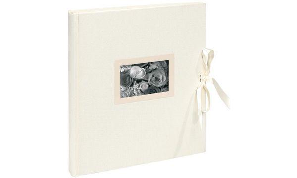 EXACOMPTA Hochzeitsalbum Kingsbridge, 290 x 320 mm,elfen...
