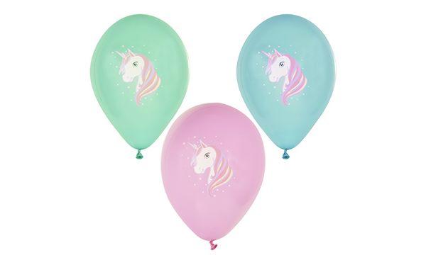 PAPSTAR Luftballons Unicorn, farbig sortiert