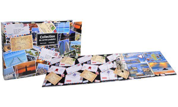 EXACOMPTA Sammel-Ringbuch für 400 Postkarten, 440 x 265 mm