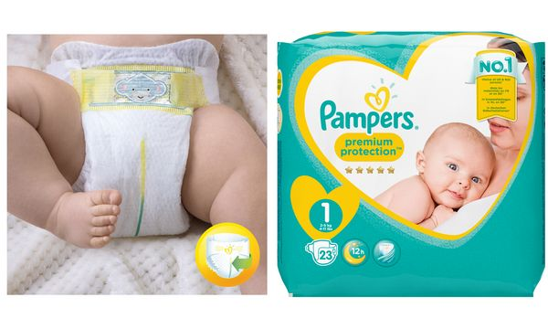 Pampers Windeln Premium Protection New Baby, Größe 1 New...