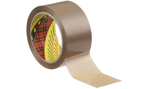 #6x3M Scotch Verpackungsklebeband 313, PP, 50 mm x 66 m
