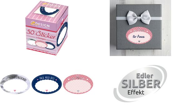 AVERY Zweckform ZDesign Sticker Geschenkbeschriftung