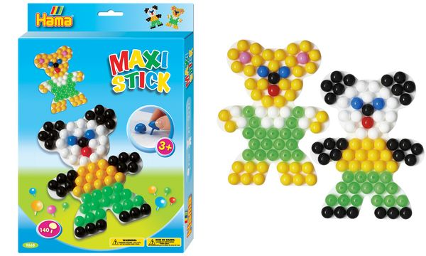 Hama Maxi Stick Stecker Bär, Geschenkpackung