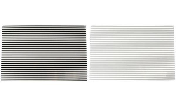 Ritzenhoff & Breker Tischset STRIPES, weiße Streifen