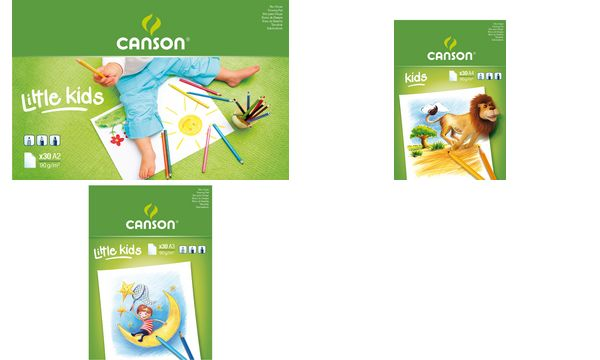 CANSON Malblock, DIN A5, 90 g/qm, 30 Blatt