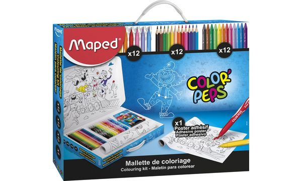 Maped Malkoffer COLORPEPS, 37-teilig