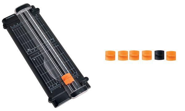 FISKARS Rollen-Schneidemaschine SureCut Recycle, DIN A5