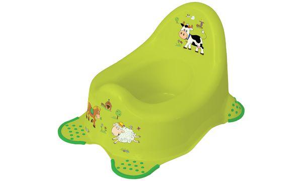 keeeper kids Babytopf adam funny farm, grün