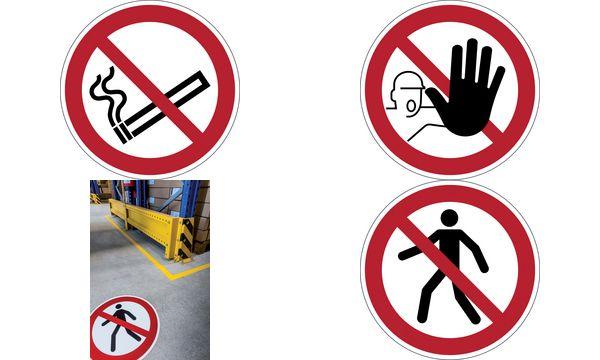 DURABLE Verbotskennzeichen Rauchen verboten, selbstkle...