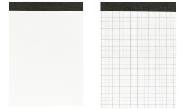 LANDRÉ Notizblock, DIN A6, 50 Blatt, blanko