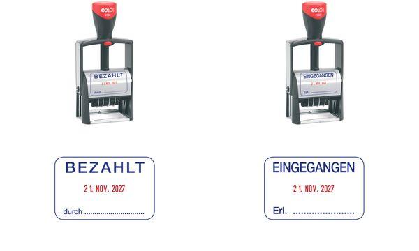 COLOP Datumstempel Classic 2660/L EINGEGANGEN
