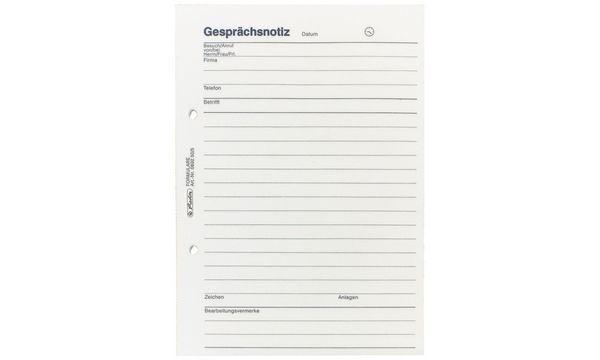 #3xherlitz Gesprächsnotizblock DIN A5, 50 Blatt