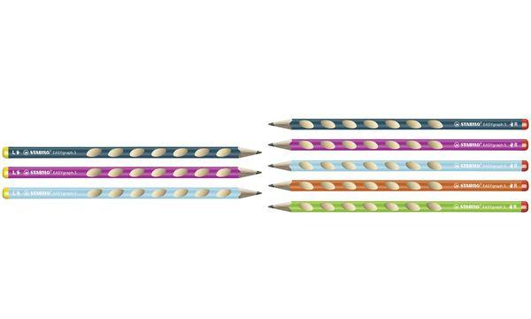STABILO Bleistift EASYgraph S, Härtegrad: HB, blau