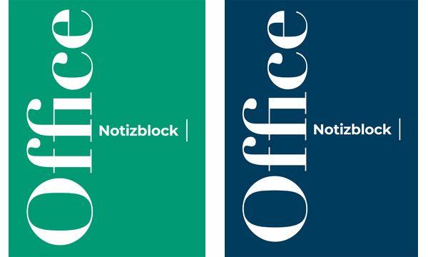 #10xClairefontaine Notizblock A4, 50 Blatt, blanko