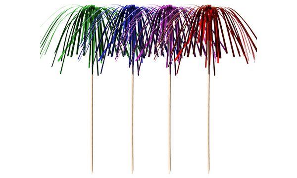 PAPSTAR Partypicker Feuerwerk, farbig sortiert